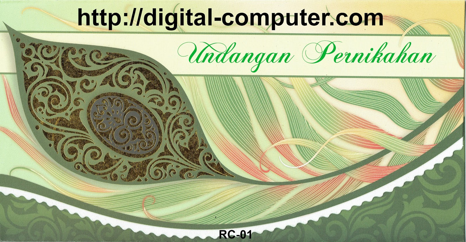 Undangan Softcover RC-01