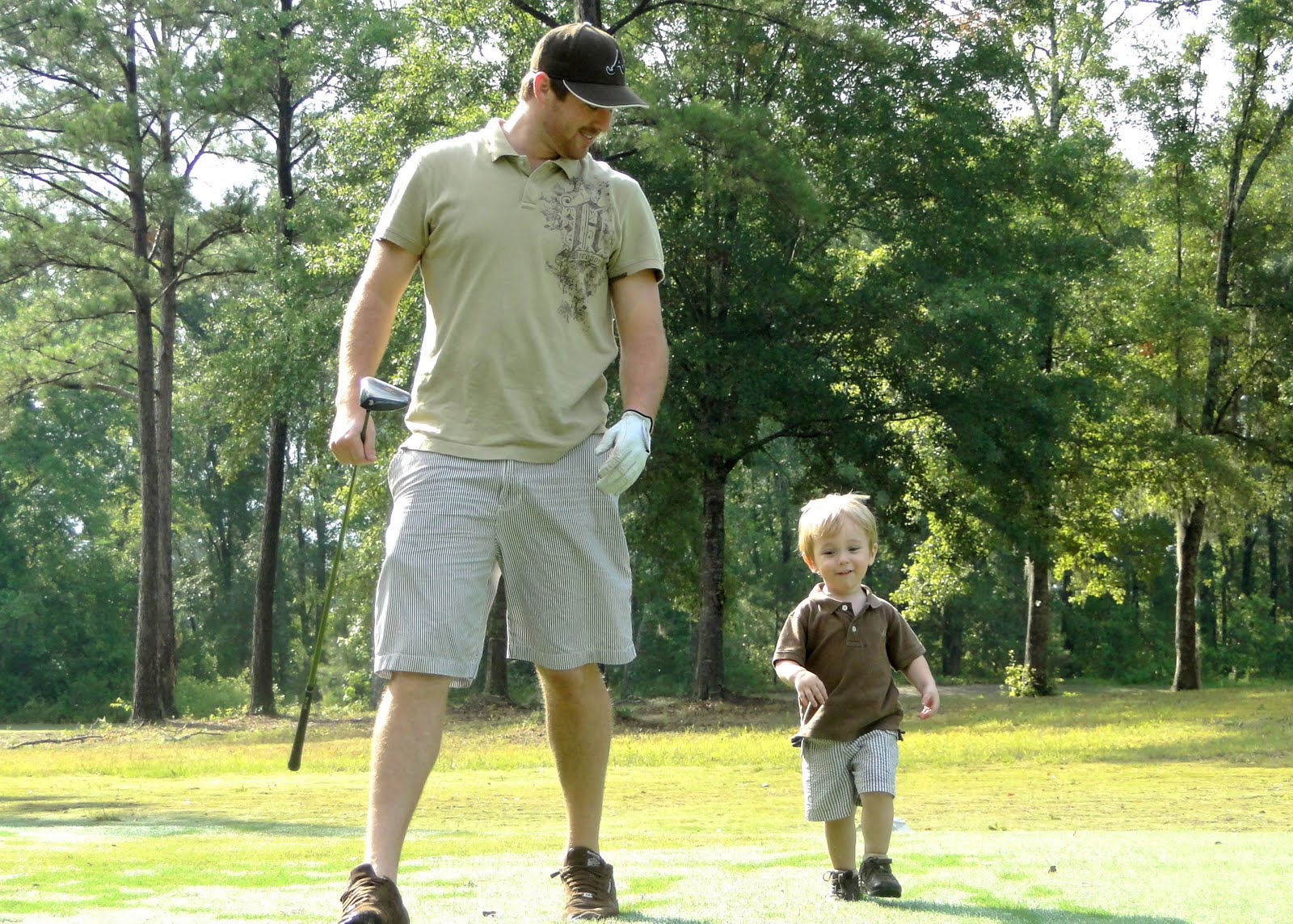 Father's Day Golf Outing 2011 {Part 2}