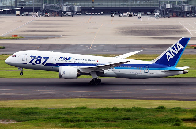 boeing 787-8 all nippon airways