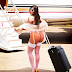See the beautiful way Miss Bum Bum, Suzy Cortez boarded a flight