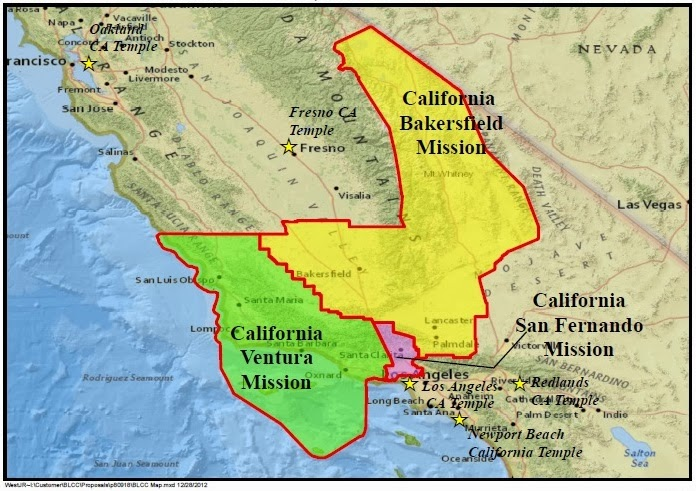 Lds Missions In California Map.California Ventura Mission 2011 2014 Creation Of The California