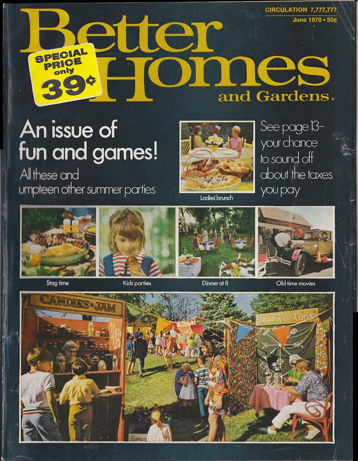 Garage sale finds better homes and gardens june 1970 - Better homes and gardens homes for sale ...