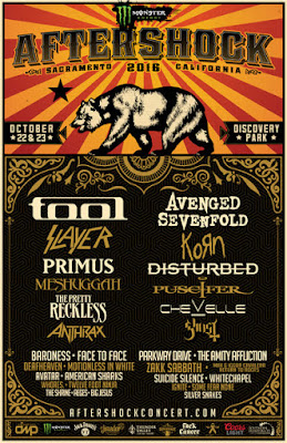 Aftershock lineup is out, and it rocks! Tickets go on sale tomorrow noon!