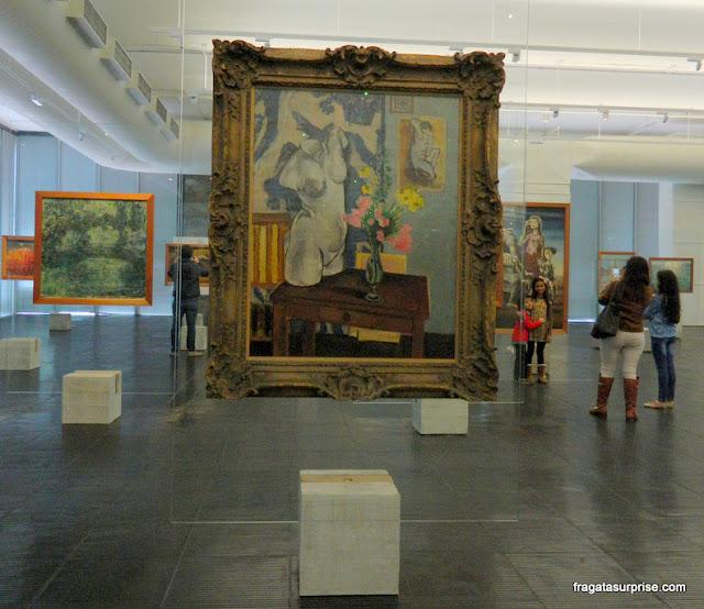 """""""O Torso de Gesso"""", de Henri Matisse, no MASP - Museu de Arte de São Paulo,"""
