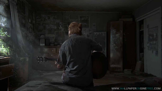 Download The Last Of US Part 2 Ellie Guitar Solo Wallpaper Engine