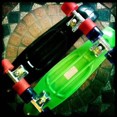 Libertyfl Penny Skateboard Vs Stereo Vinyl Cruiser