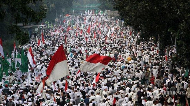 Ilustrasi Aksi Bela Islam 25 November (Foto Tribun News)