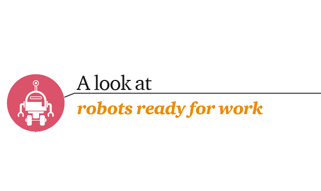 A Look At Robots Ready For Work