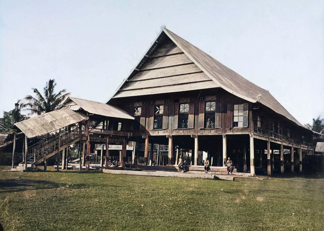 Istana Raja sultan Gowa tallo Makassar