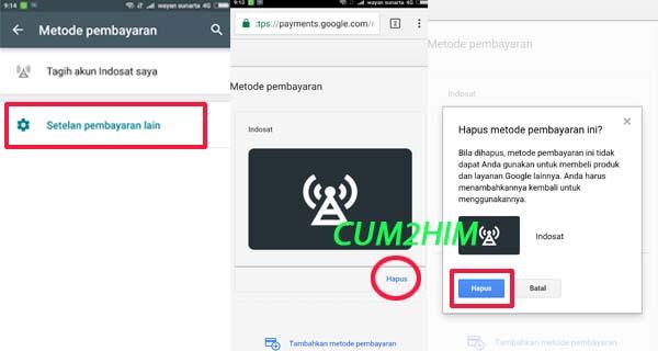 Cara Menambahkan, menghapus, atau mengedit metode pembayaran Google Play Store Android