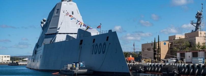 Експериментальний есмінець Zumwalt введено до бойового складу ВМС США