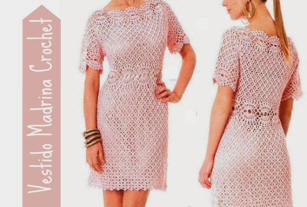 Vestido Madrina Patron Crochet