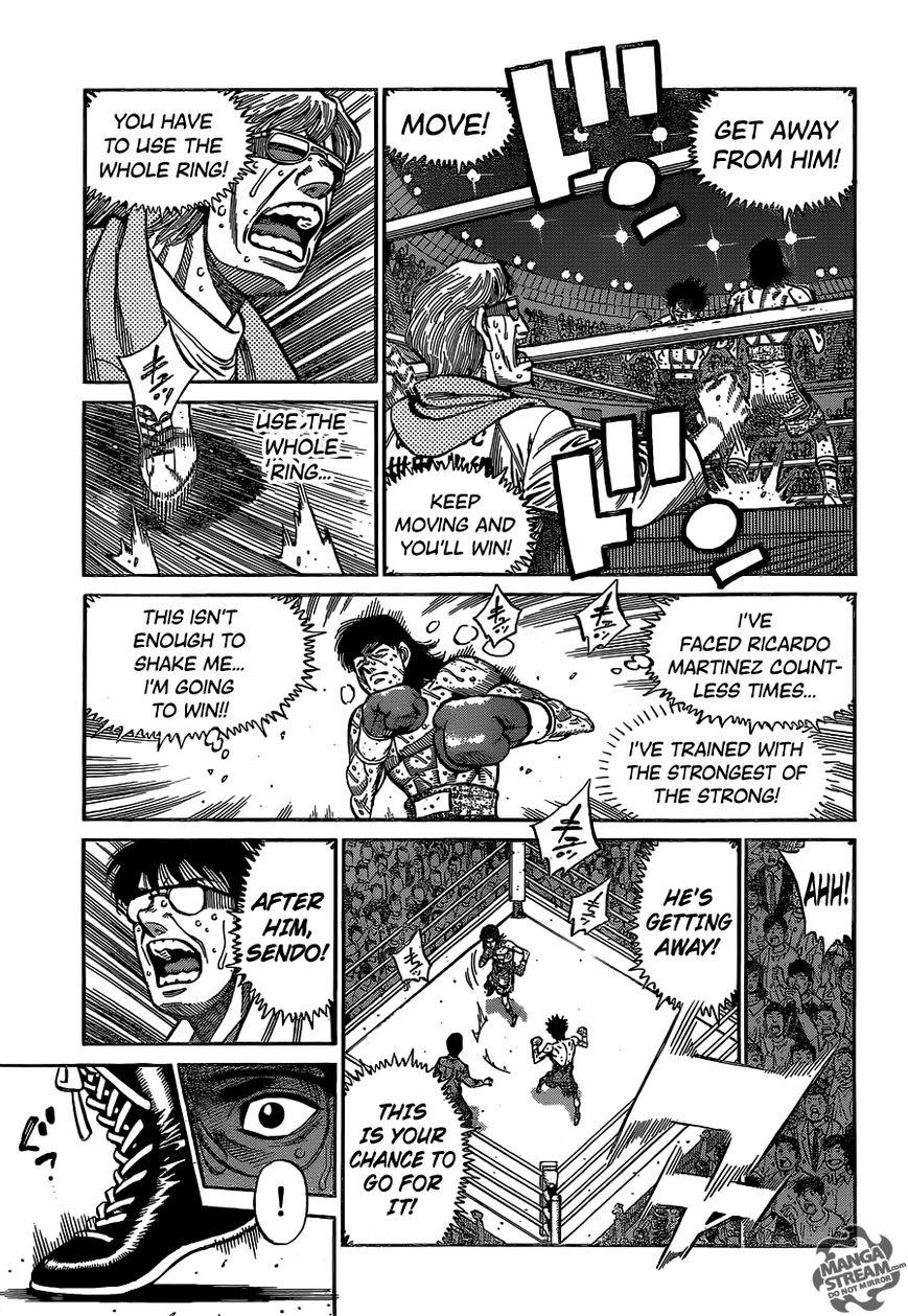 Hajime no Ippo - Chapter 1090