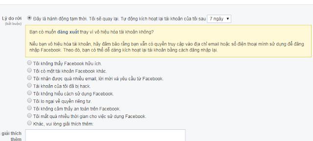(FAQ 1) - Khóa tài khoản Facebook tạm thời và mở khóa Facebook trên Cốc Cốc 3
