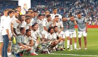 Daftar Pemain Real Madrid 2018-2019