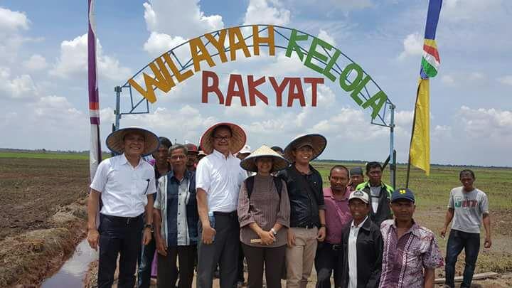 Walhi Deklarasikan Desa Ekologis