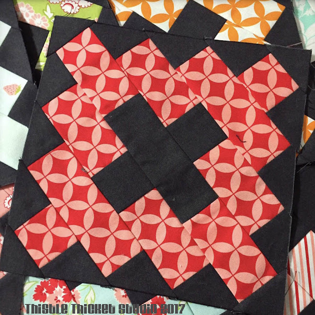 Bonnie & Camille Kindred Quilt Blocks by Thistle Thicket Studio. www.thistlethicketstudio.com