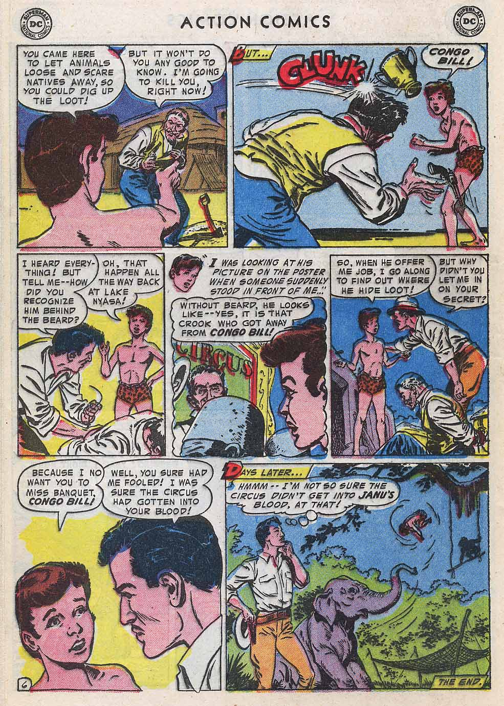 Read online Action Comics (1938) comic -  Issue #196 - 22