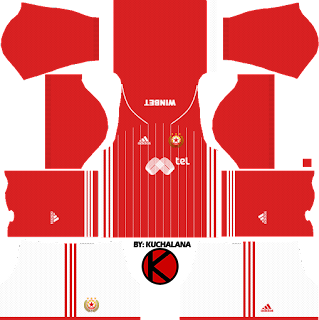 CSKA Sofia Kits 2017/2018 - Dream League Soccer