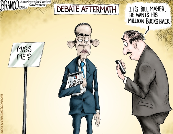 Romney hands Obama a big can of Whoop Ass in the 1st Presidential Candidate Debate for the 2012 election