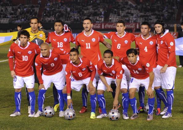 Formación de Chile ante Argentina, Clasificatorias Brasil 2014, 7 de octubre de 2011