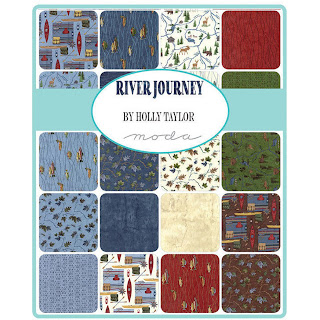 Moda River Journey Fabric by Holly Taylor for Moda Fabrics