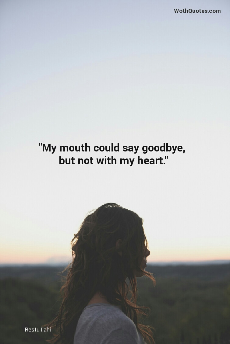 35 Goodbye Quotes