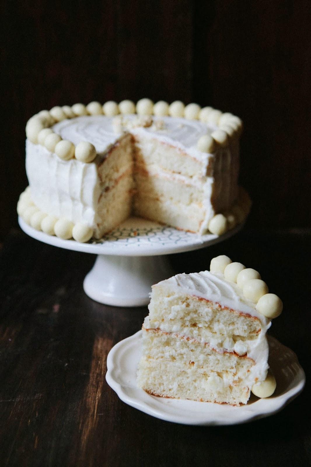 White Chocolate Malt Cake Hummingbird High A Desserts