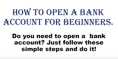 How To Open Bank Account In India - (Saving Account)