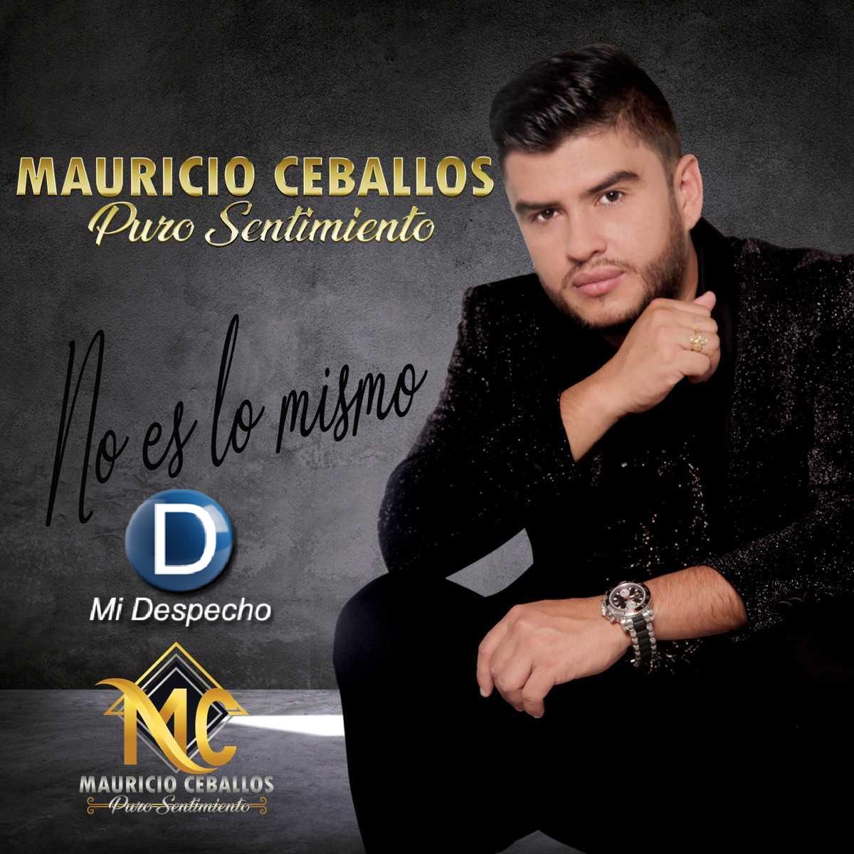 Mauricio Ceballos No Es Lo Mismo Frontal