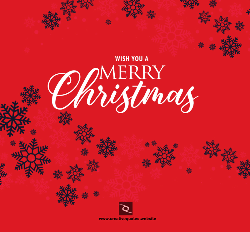 Merry christmas wishes image 2018 - Creative Quotes