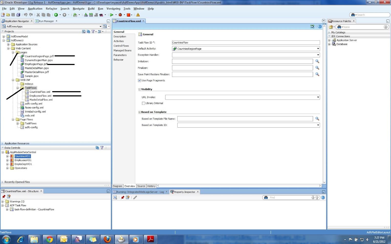 Oracle ADF Step by Step Guide - Oracle ADF Tutorial: ADF