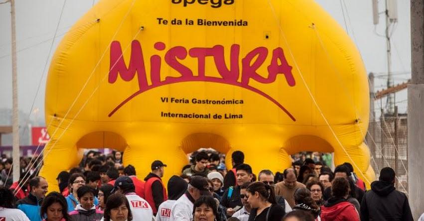 MISTURA 2017: Fechas del evento y precio de entradas para la feria gastronómica - www.mistura.pe