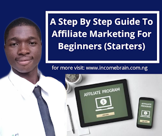 How to do Affiliate Marketing for Beginners - incomebrain.com.ng