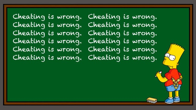 Deceive to receive: Cheating to get the grade