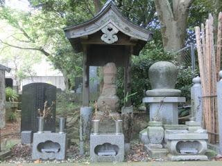 稲毛重成の墓