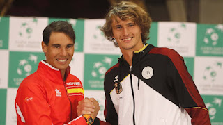 Rafa Nadal is back, plays Davis cup