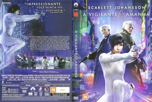 Capa DVD A Vigilante do Amanhã