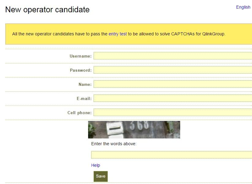 Qlinkgroup Captcha Server | Easy Captcha Jobs