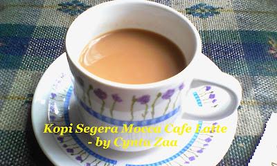 Kopi Segera Mocca Cafe Latte