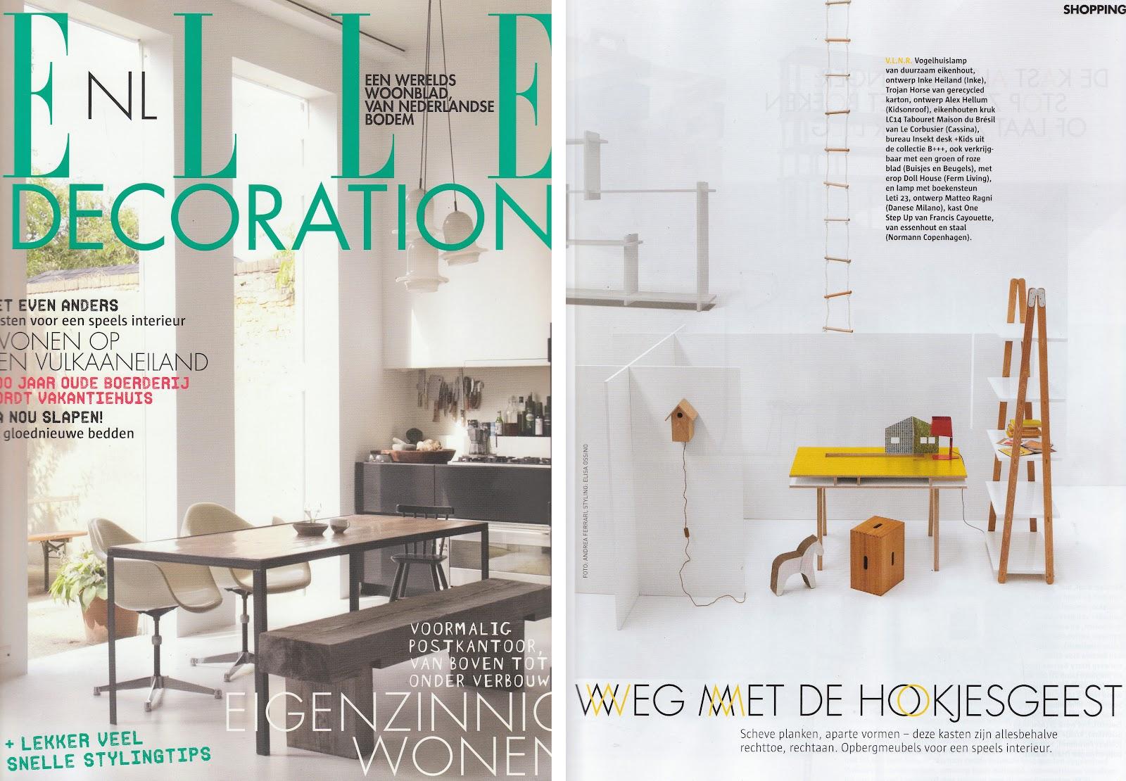 Inke Blog Elle decoration / september 32 NL