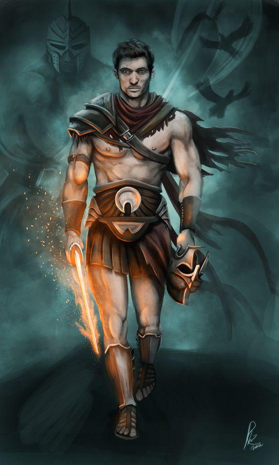 Grandstanding Problem - Perseus: Hero who slayed the kraken and Medusa.