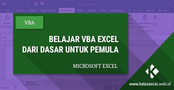 Panduan VBA Excel: Pengenalan Macro VBA Excel Dasar Untuk Pemula #01