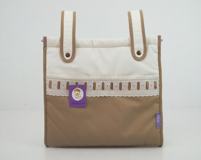 bolso lencero Bugaboo beige camel