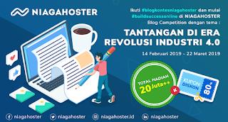 Ikuti Kompetisi Blog Niagahoster Berhadiah Puluhan Juta Rupiah dan Diskon 80% Hosting