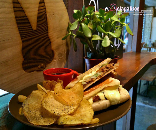 Ropa Vieja Sandwich from Bucky's Counter Poblacion