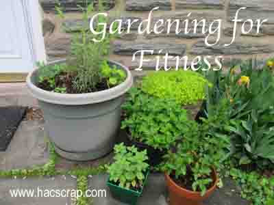 Gardening your way to better fitness.