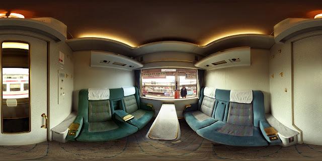 スペーシア個室360度写真