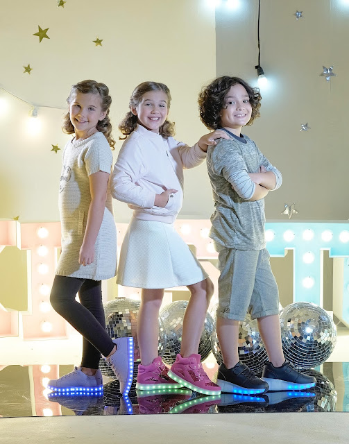 ALL- LIT UP WITH SUGAR KIDS AND TOUGH KIDS SHOES AT SM