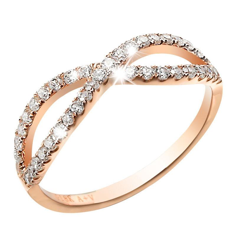 rose gold wedding rings for women amazing beautiful designs of rings sari info 7125